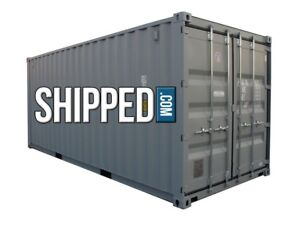 Shipping Containers For Sale Ebay >> Details About 20 Ft New Shipping Container For Sale Secure Home Business Storage In Seattle