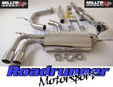 "Milltek Golf GTI MK5 Turbo Back Exhaust System 2.75"" Non-Res Inc Downpipe Cat"
