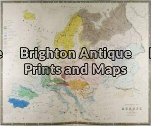Antique Map 5 024 Europe