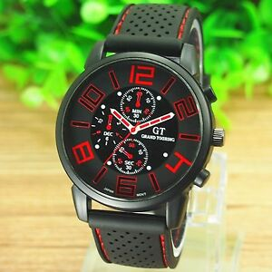 mens watches quartz stainless steel analog sports new wrist watch image is loading mens watches quartz stainless steel analog sports new