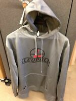Leupold Gray Hoodie Sweatshirt----just In Time For Christmas-worldwide Shipping
