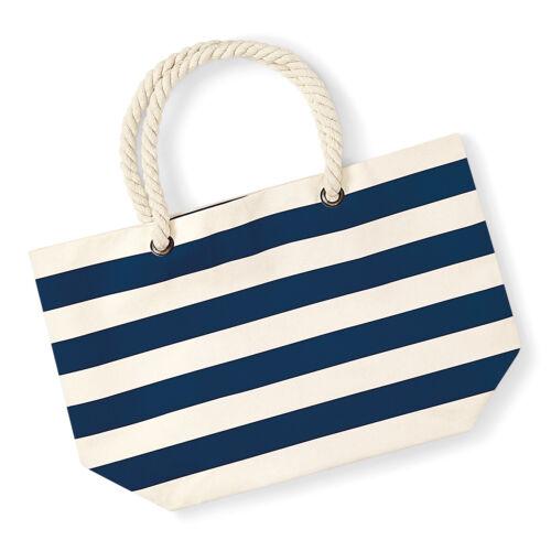 Westford Mill Boardwalk Beach Bag Womens Canvas Summer Large Tote Handbag W680