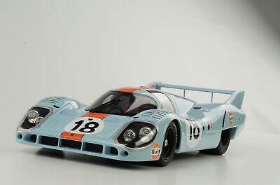 24h le mans Rodriguez//Oliver 1971 Gulf 1:18 CMR Porsche 917 LH #18