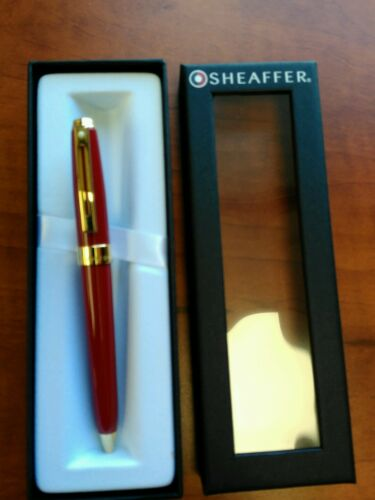 Sheaffer Prelude Red Lacquer Ballpoint Pen 100/% Authentic