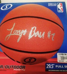 Lonzo Ball Signed Autographed Spalding Basketball