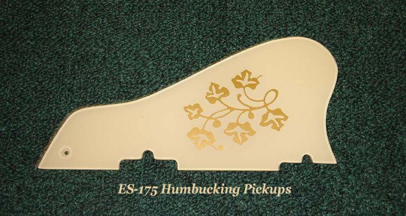 ES-175 - ES-295 1958 Floral Pickguard made for Gibson Vintage Guitar Project NEW