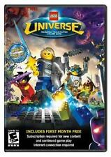LEGO Universe (Windows/Mac, 2010) Brand NEW Multiplayer Online Game