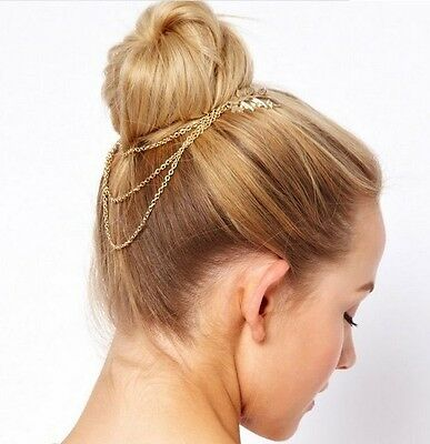 Party Queen Metal Rhinestone Head Chain Jewelry Headband Head Piece Hair band