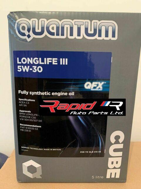 AUDI/Vw Quantum Longlife 3 VW Golf 1.9Tdi Passat 1.9Tdi Aceite - 5w/30 - 5L Nuevo
