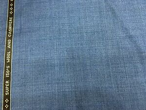 Image Is Loading Superfine Quality Wool Amp Cashmere Fabric Plain Light