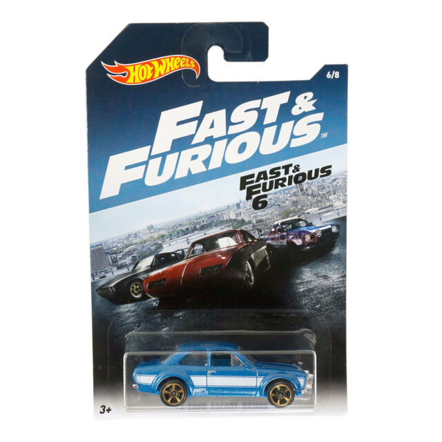 Hot Wheels Fast & Furious '70 Ford Escort RS1600 Die Cast