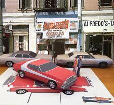 Papercraft Starsky's Ford Gran Torino coupe PaperCar E Z U-build Starsky & Hutch