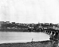 8x10 Civil War Photo: River View Of Georgetown Near Washington, 1865