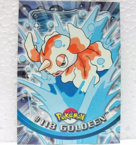 "normale TOPPS trading cards collection series 2a 2000 /""Goldeen n° 118/"""