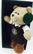 Starbucks Bearista Bear with Brown Apron Limited Commemorative Edition 2016