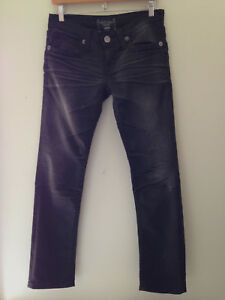 NEW-Big-Star-Authentic-Denim-Vintage-Collection-Black-NICO-Stretch-Jeans-29-R