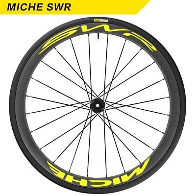 Two Wheel Sticker Set for MICHE SWR CARBON 50 Road Bike Bicycle Cycling Decals