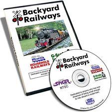 Backyard Railways DVD - G Scale LGB Model Train Garden Railroad Kids Video Film