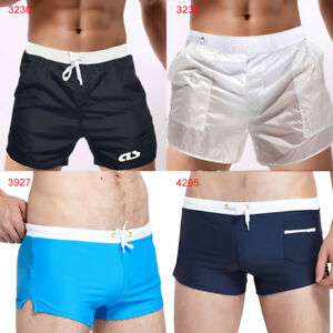 bde5a3e5d7cc3 New Hot Sexy Cool Men's Swimwear Boxers Swimming Trunks Swim Shorts ...