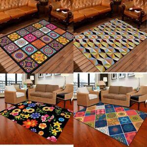 Non Slip Large Traditional Rugs Hallway Runner Rug Bedroom Living Room Carpet