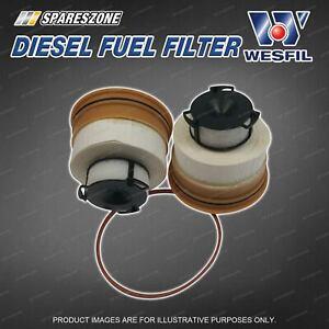Wesfil Diesel Fuel Filter for Toyota Landcruiser VDJ200 4.5L V8 04/19-on