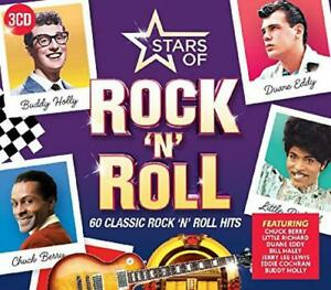 Stars-Of-Rock-N-Roll-Various-Artists-Audio-CD-New-FREE-amp-FAST-Delivery