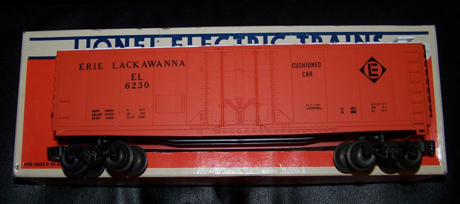 Lionel Erie Lackawanna Reefer   6230 el estándar  O  Gauge Nuevo En Caja