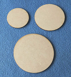 6cm-8cm-amp-10cm-x-3mm-thick-MDF-CIRCLES-Craft-Shapes-Blanks-Coasters-model-making