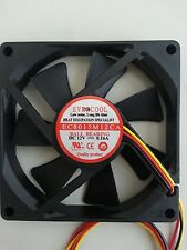 Evercool 80mm 15mm DC 12V Ball Bearing Brushless, Low Noise Fan EC8015M12CA
