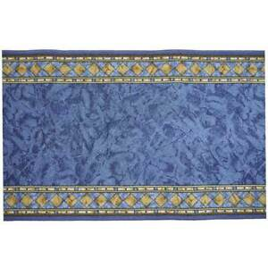 Hallway-Runner-Carpet-Rug-Blue-67cm-Rubber-Backed-Cheops-Per-Metre-Floor-Mat-New