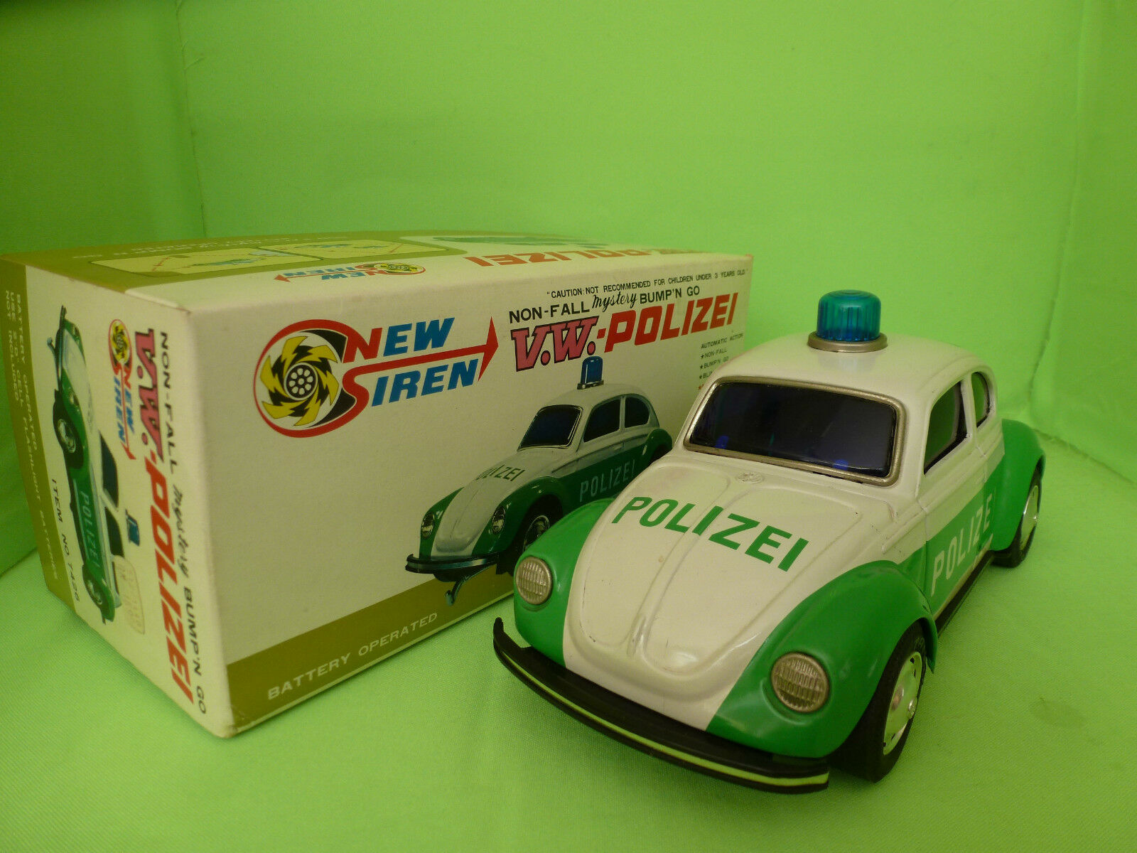TAIYO   VW VOLKSWAGEN - POLIZEI - IN BOX - 7426    RARE SELTEN IN GOOD CONDITION