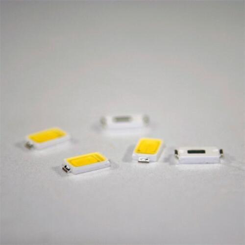 50 kalt weiße SMD 5730 LEDs SMDs LED weiß cold-white bianco blanche blanc