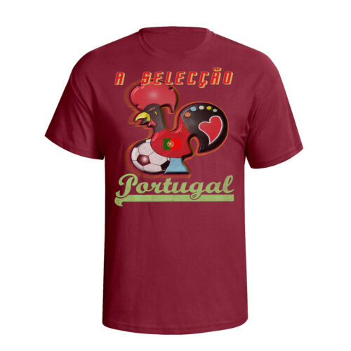 Portugal World Cup 2018 Football Mascot T-Shirt Choice Of MENS LADIES KIDS