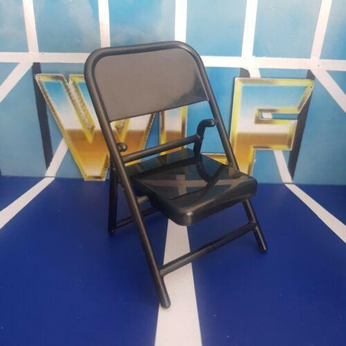 Accessories Fodder for WWE Wrestling Figures Black - Jakks Steel Chair