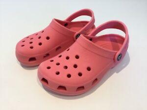 Holiday Crocs Girls Summer Pink Kids Uk Light Sandles 3 impermeabile qT4w1O8