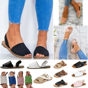 c6d2d1bfc67ef2 ... Image is loading Women-039-s-Sandals-Flat-Espadrilles-Summer  Shop the  ...