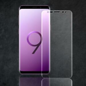 Panzerfolie PET Display Schutz Folie für Samsung Galaxy S9 Plus Folie Curved