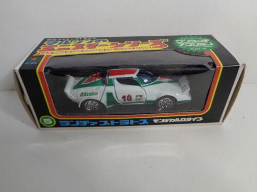 15  Marushin Kagyo in Japan 90 er Jahre 10 Nr Lancia Stratos Nr