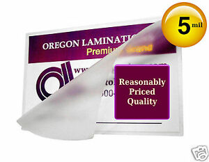 Hot-Laminating-Pouches-Credit-Card-size-5-Mil-2-1-8-x-3-3-8-100-Clear