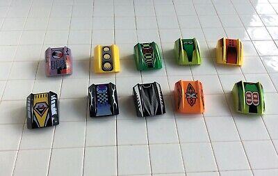 6x Lego Cockpit schräg Stein transparent schwarz 2x2 Fenster 4217722 47904 30602
