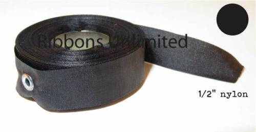 "Fits 1//2/"" Replacement Black Fabric Typewriter /& Adding Machine Ribbon 18YDS NEW"