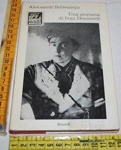 SOLZENICYN-UNA-GIORNATA-DI-IVAN-DENISOVIC-Einaudi-Coralli-libri-usati