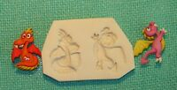 2 Baby Dragons Handmade Polymer Clay Push Mold 0 S/h After 1st Item