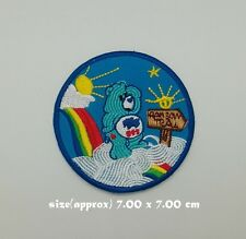 Care Bears Patch Sew Iron on Embroidered Rainbow Cartoon Symbol Free Shipping