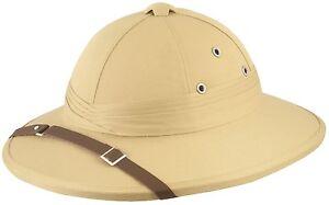 Uomo Donna Safari Giungla Esploratore Cappello Giornata Mondiale Del ... aa93b017ee7e