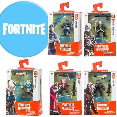 SET OF 6 Fortnite Battle Royale Collection Solo Figure Packs Ragnarok, Drift+