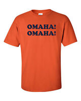 OMAHA OMAHA Peyton Manning DENVER BRONCOS Champs Men's TShirt 714