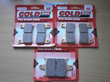 SUZUKI GSXR600 K4/K5 (2004-2005) > FULL SET SINTERED HH BRAKE PADS *GOLDFREN*