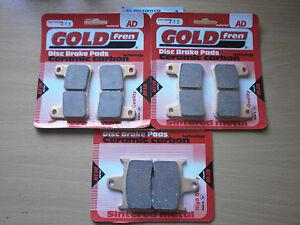 SUZUKI GSX-R 600 (K4 2004 K5 2005) > FULL SET SINTERED HH BRAKE PADS < GOLDFREN