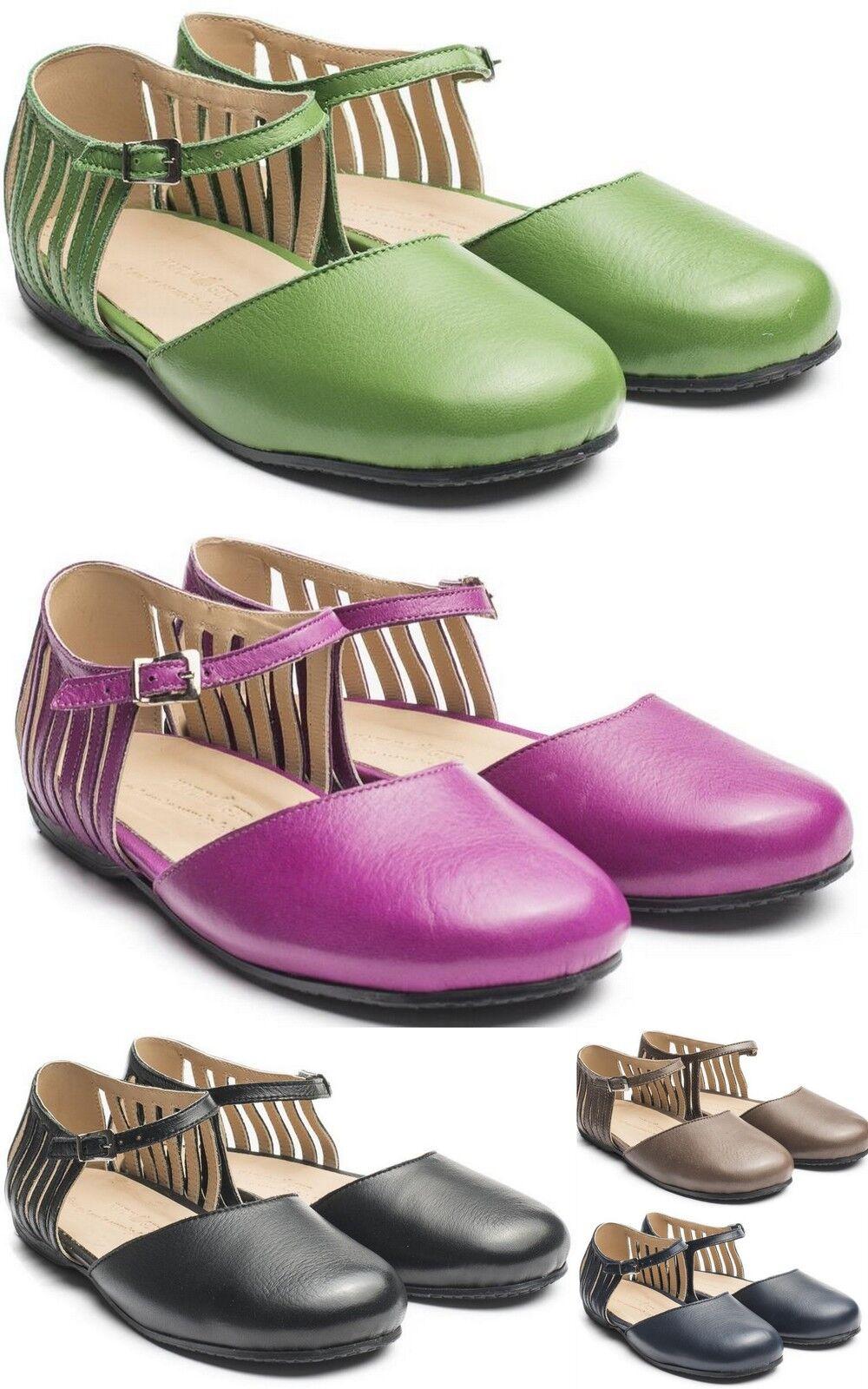 Avslöjande av av av Haflinger måste göras till läderskor Öppna Sandaler kvinnor Closed Toe Mary Jane sommar  köpa billiga nya